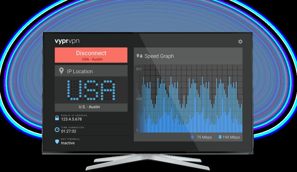 电视机的VyprVPN应用